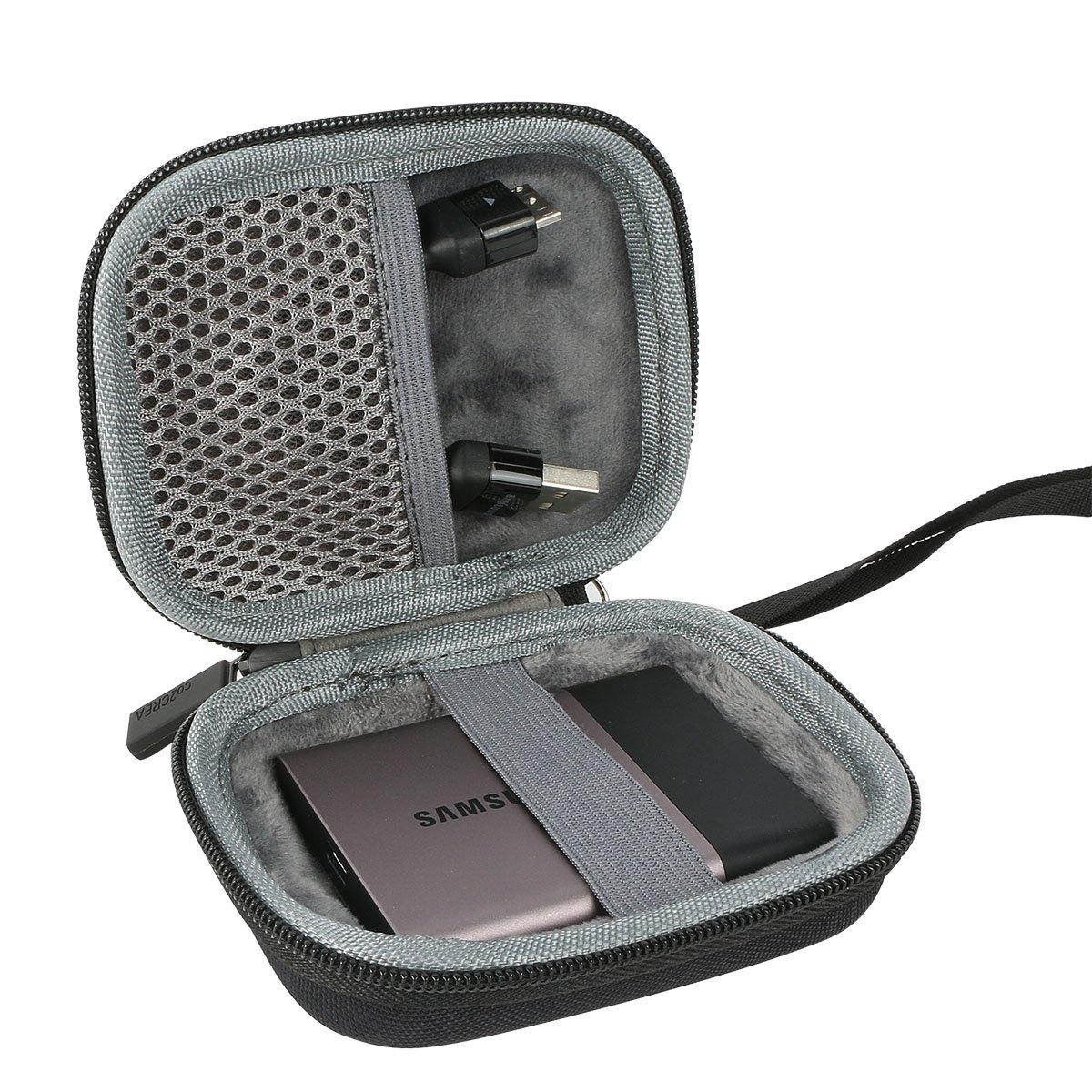 Hard Drive Bags Cases Wd Wdbbkd0030 3tb Disk Cartridge Travel Case For Samsung T3 T5 Portable 250gb 500gb 1tb 2tb Ssd Usb 30 External