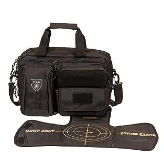 Tactical Baby Gear Deuce 2.0 Tactical Diaper Bag with Changing Mat (Black)