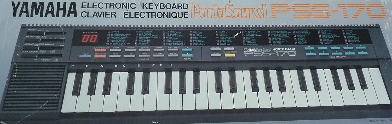 Yamaha Teclado electrónico PortaSound PSS-170: Amazon.es ...