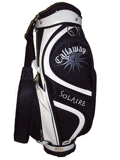 Amazoncom Callaway Solaire Cart Bag Blackwhite 8 9 Way Top