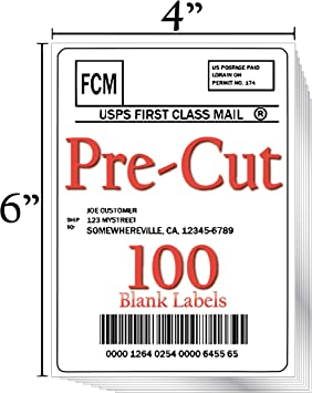 **** Shipping Labels For InkJet and Laser Jet Printers **** FREE SHIPPING TODAY