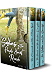 The Soldiers of Purple Heart Ranch, Books 1-3: Three Sweet Marriage of Convenience Military Romances