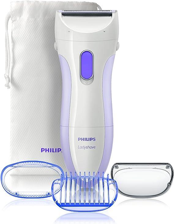 Philips HP 6342/00 - Afeitadora femenina para todo el cuerpo con cabezal pivotante y bolsa de transporte: Amazon.es: Salud y cuidado personal