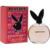 Playboy Generation Eau de Toilette Spray for Women, 90 Milliliter