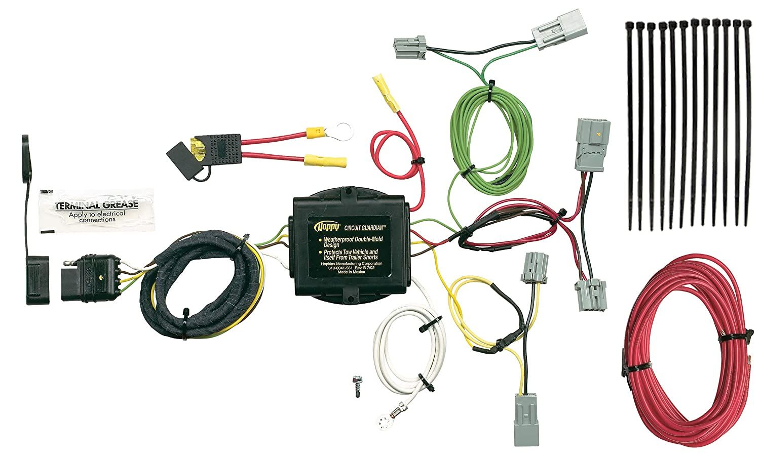 Hopkins 43165 Plug-In Simple Vehicle to Trailer Wiring Kit Hopkins Towing Solution
