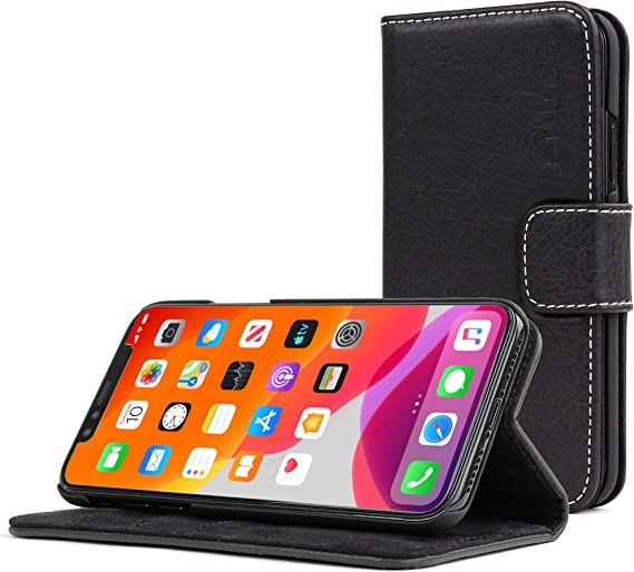 Wallet Flip Stand Case Cover For iPhone