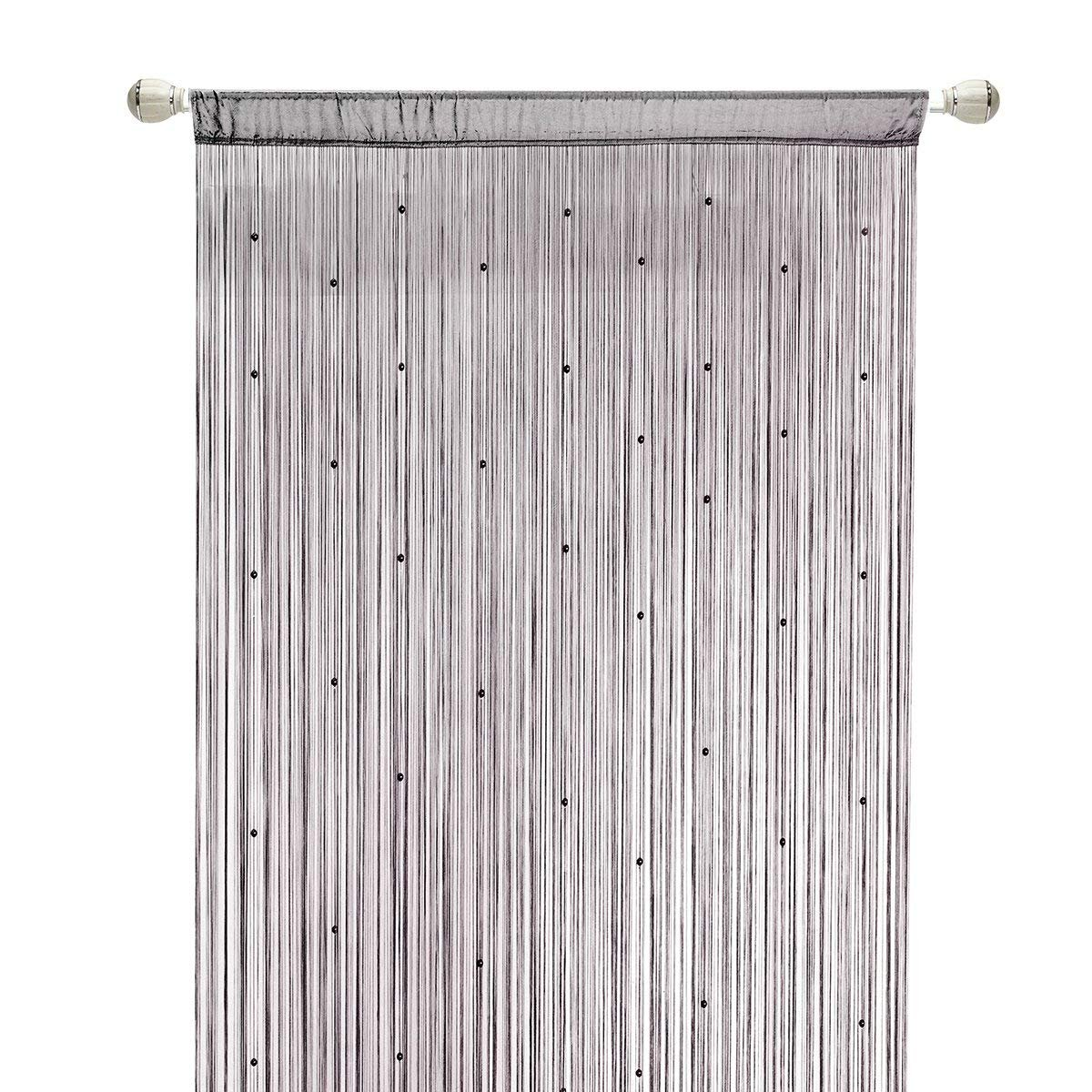 How to make an original dense curtain for a niche in the wall