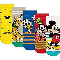 Disney Calcetines Paquete de 5 para Niños Mickey Mouse