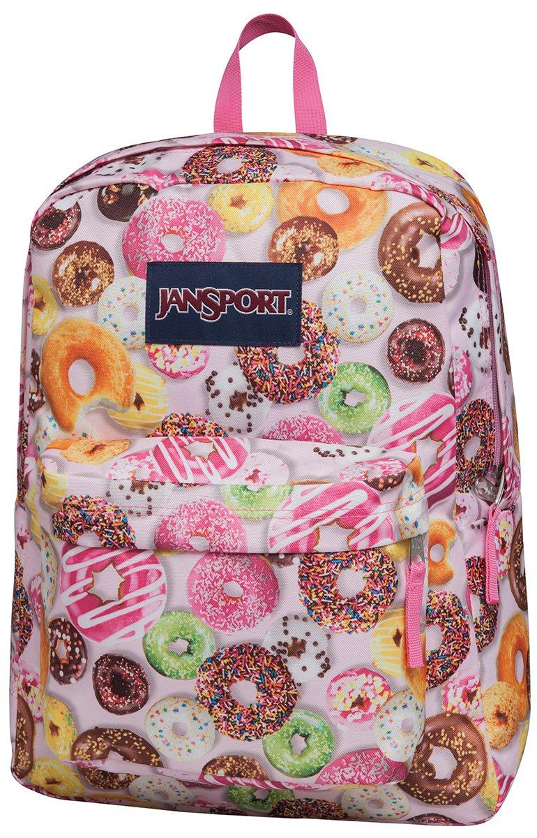 JanSport Unisex SuperBreak Multi Donuts Backpack,One Size