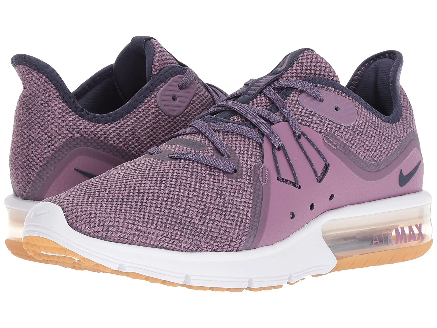 timeless design a8149 2659c Nike Women s s WMNS Air Max Sequent 3 Fitness Shoes Multicolour (Violet Dust  Neutral Indigo Obsidian 501) 9 UK  Amazon.co.uk  Shoes   Bags