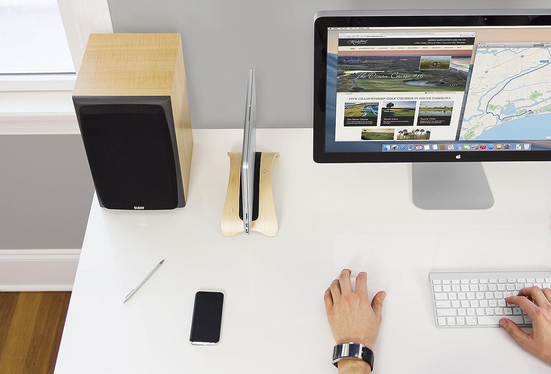 35e5de3696d Twelve South BookArc mod for MacBook, birch   Modern wood desktop stand for  current MacBook models: Amazon.ca: Computers & Tablets