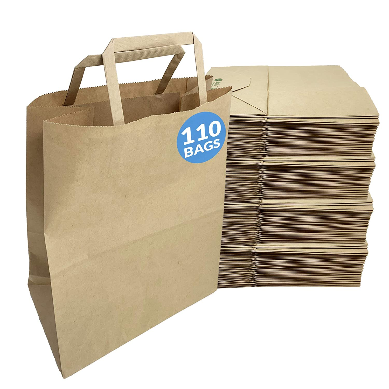 Reli. Paper Bags | 110 Pcs Bulk | 8