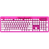 PDP Rock Candy Wireless Keyboard - Pink Palooza (904-005-NA-PK)
