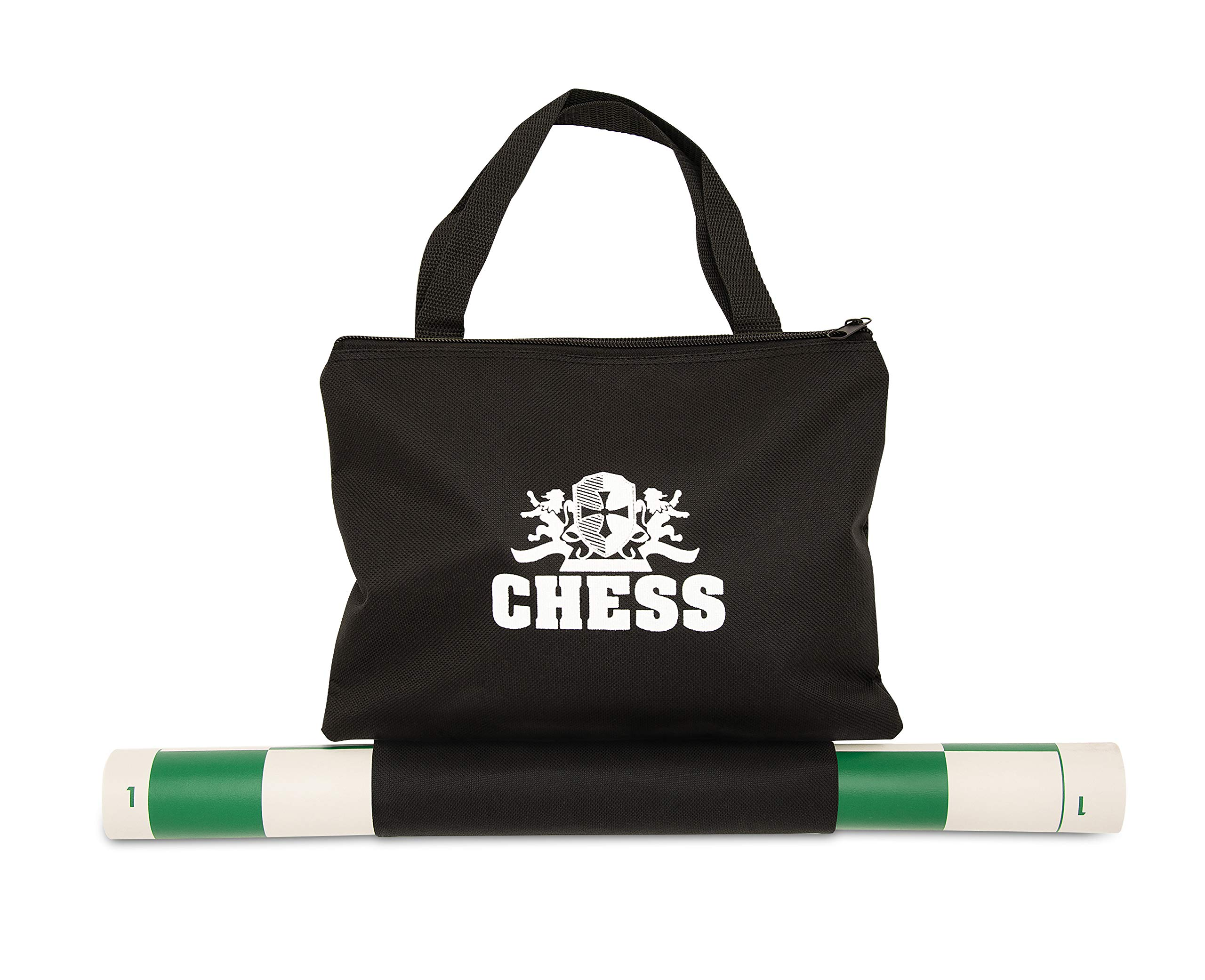 We Games Best Value Tournament Chess Set W A Green Roll