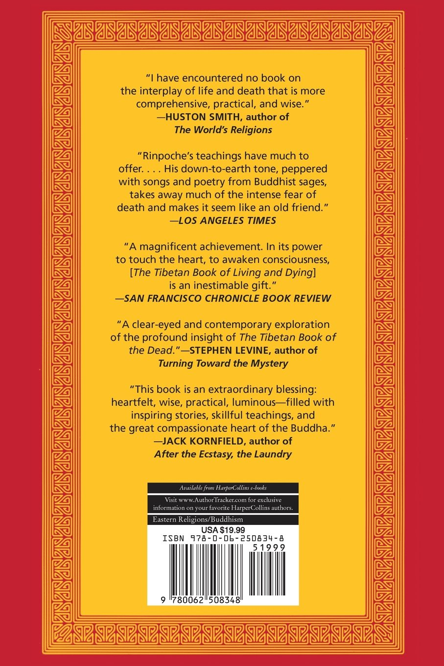 The Tibetan Book of Living and Dying: The Spiritual Classic ...