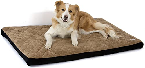 Komfy K9 Waterproof I Odor Proof Pet Bed Easy Removable Cover – Self Inflates – Carry Case for Travel