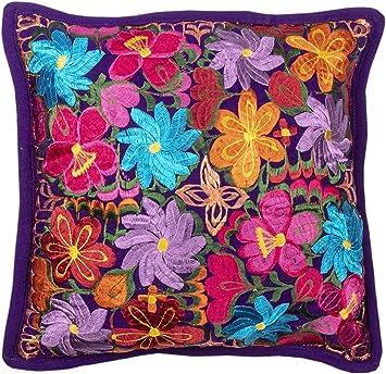 Amazon.com: El Paso Designs - Funda de almohada bordada ...