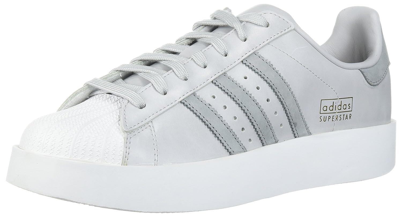 adidas Originals Women's Superstar Bold W Sneaker B01N6GW2D7 5 B(M) US|Light Solid Grey/Mid Grey/White