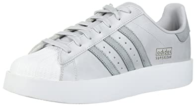 adidas Originals Women's Superstar Bold W Sneaker, Light Solid Grey/Mid  Grey/White