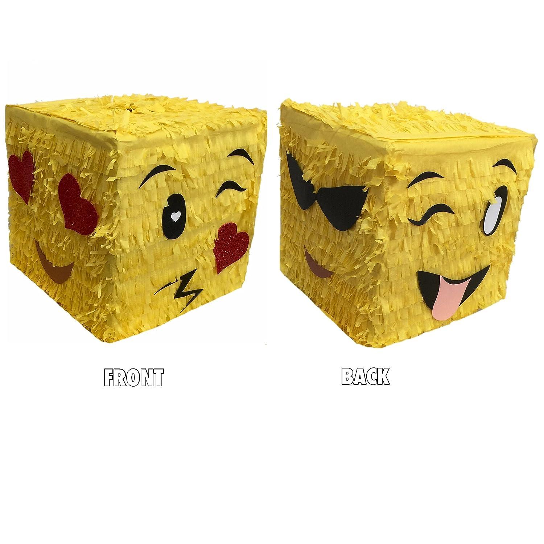 Cube Multi-Face Emoji Pinata