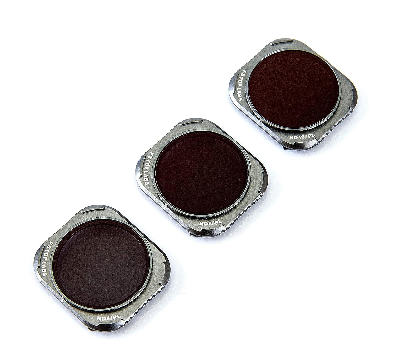 レンズフィルター DJI Mavic 2 Pro 4Kカメラレンズセット マルチコートフィルターパック アクセサリー(3パック) ND4/CPL ND8/CPL ND16/CPL   B07H5Q5GJF