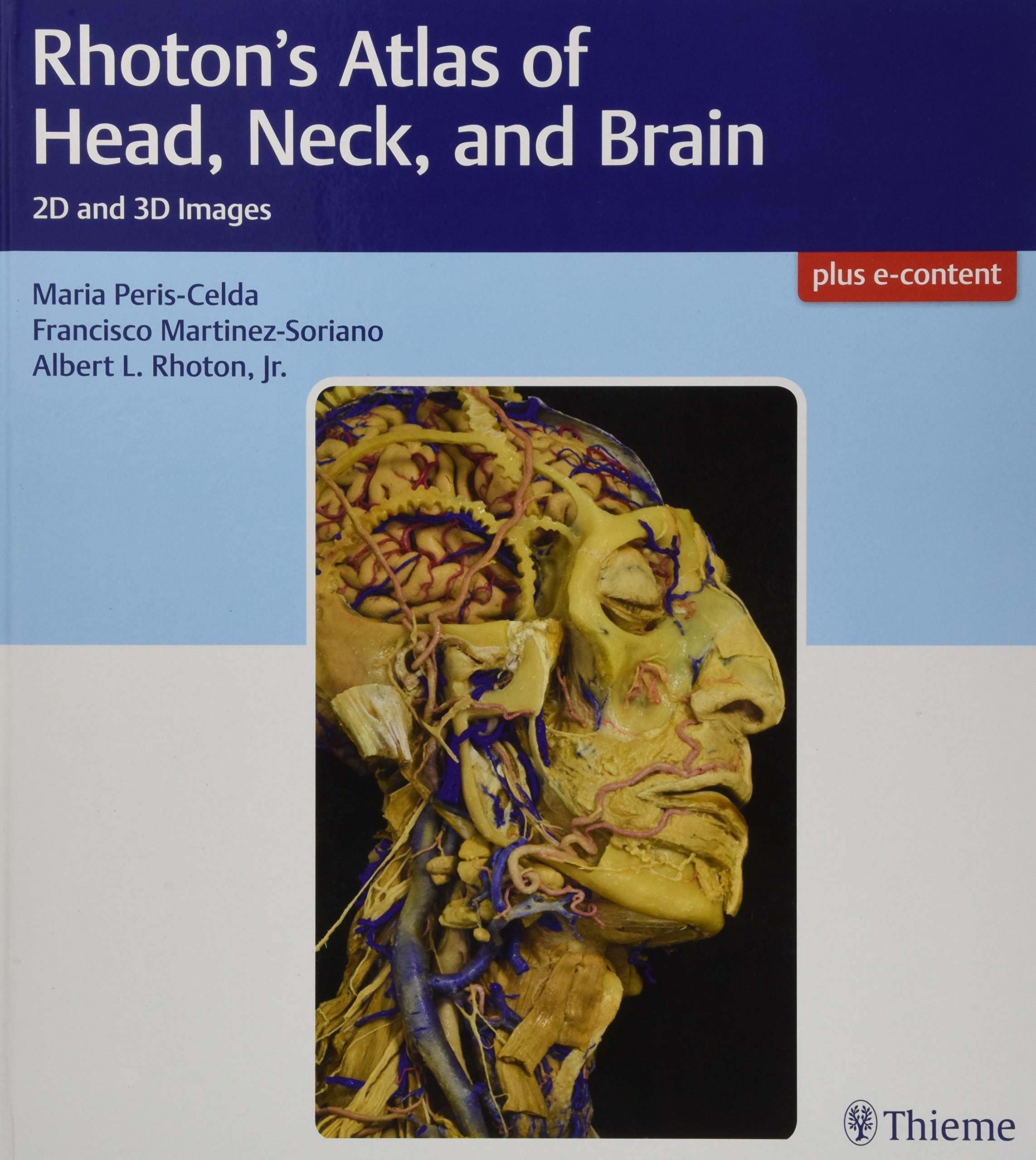 Rhoton\'s Atlas of Head, Neck, and Brain: 2D and 3D Images: Amazon.es ...