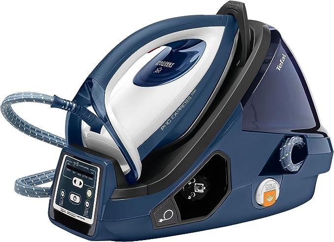 Tefal GV9071 Pro Express Care High Pressure Steam Generator, 2400 W, Black/Blue