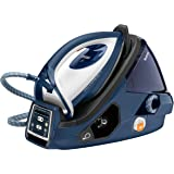 Tefal GV9071 Pro Express Care Anti Scale High Pressure Steam Generator, 2400 Watt, Black/Blue