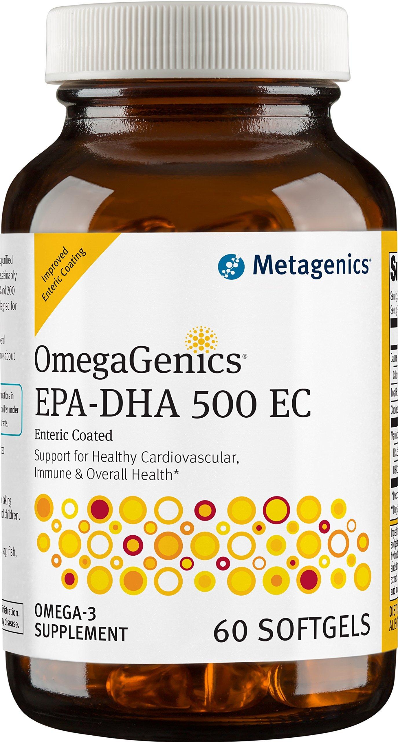 Metagenics - OmegaGenics EPA-DHA 500 EC, 60 Count
