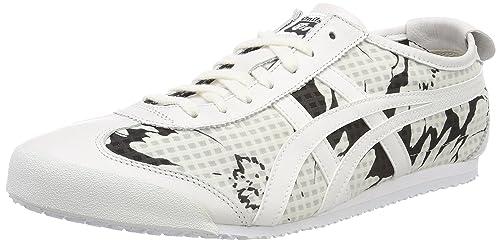 29b3a8bf9e6 Asics Onitsuka Tiger Mexico 66, Zapatillas para Mujer, Blanco White 0101,  44 EU: Amazon.es: Zapatos y complementos