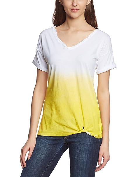 Levis Front Knot - Camiseta regular fit de manga corta para mujer, talla 36,