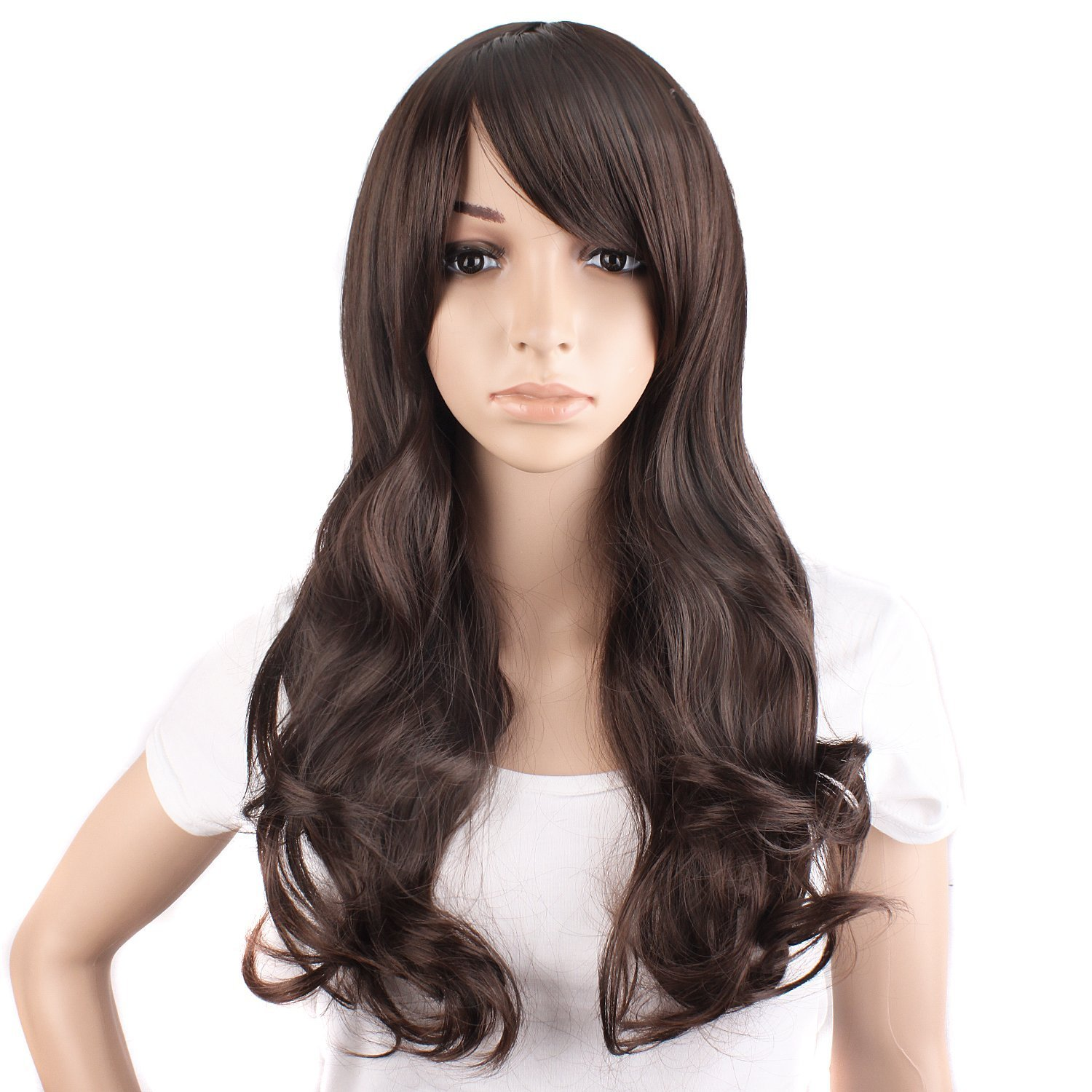 amazoncom mapofbeauty 50cm 20quot long curly natural