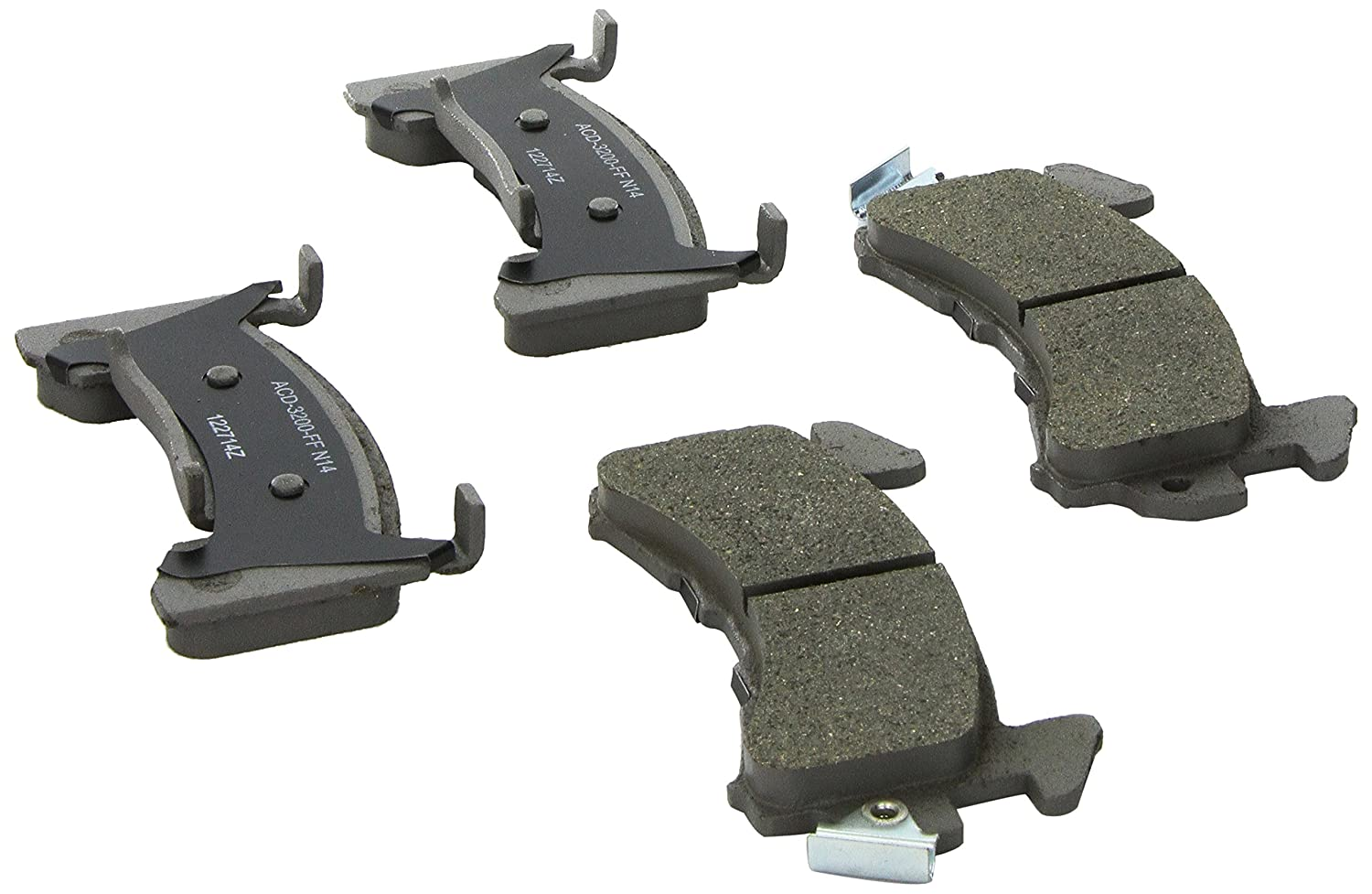 ACDelco 14D154CH Advantage Ceramic Front Disc Brake Pad Set