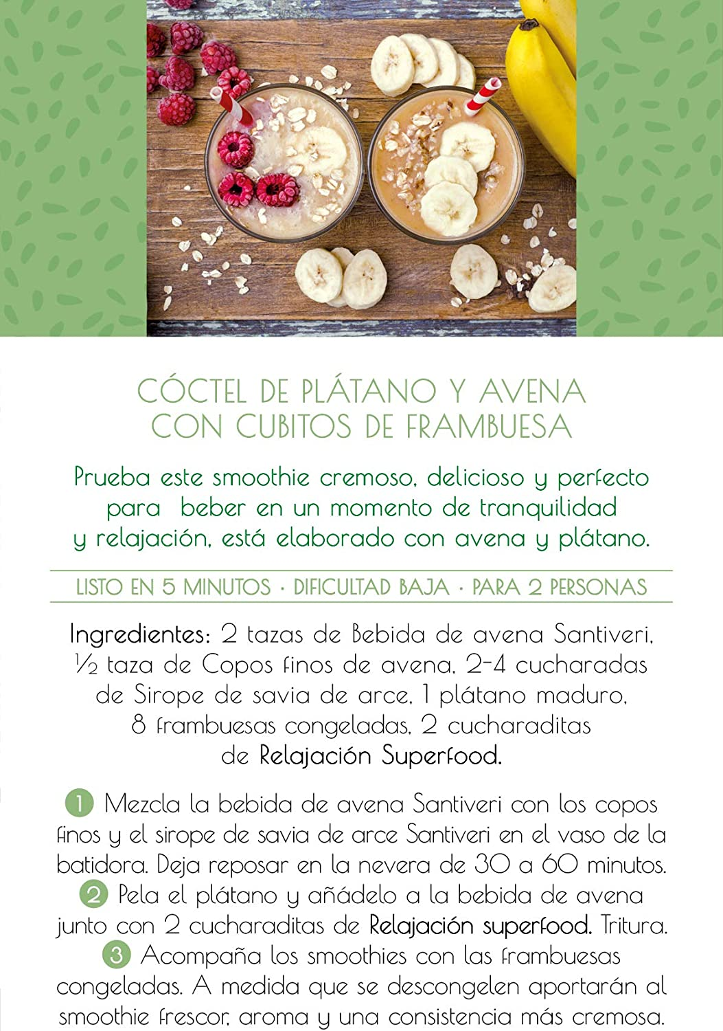 Superfood Santiveri by Elsa Punset relajación (contiene Vitamina C ...