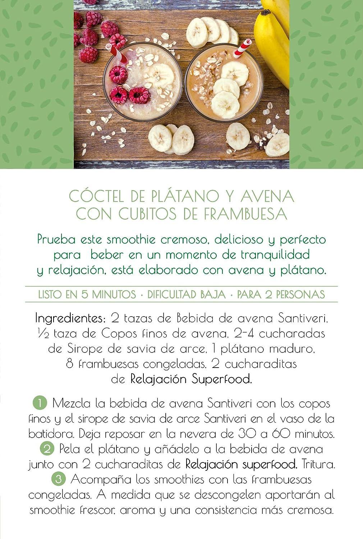 Superfood Santiveri by Elsa Punset relajación (contiene Vitamina C): Amazon.es: Salud y cuidado personal