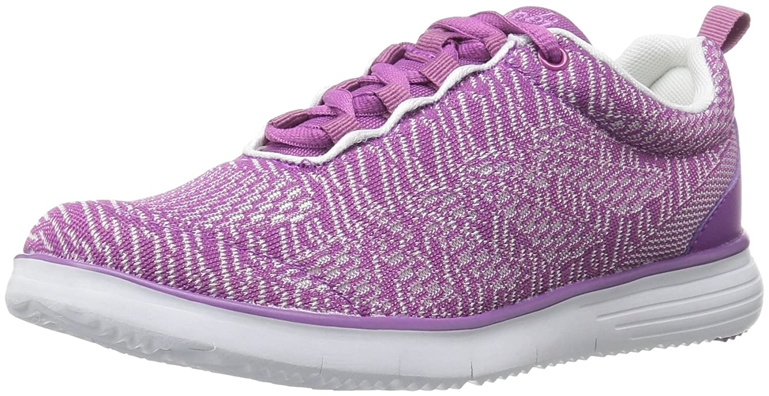 Purple White Propét Womens TravelFit Pro Walking shoes