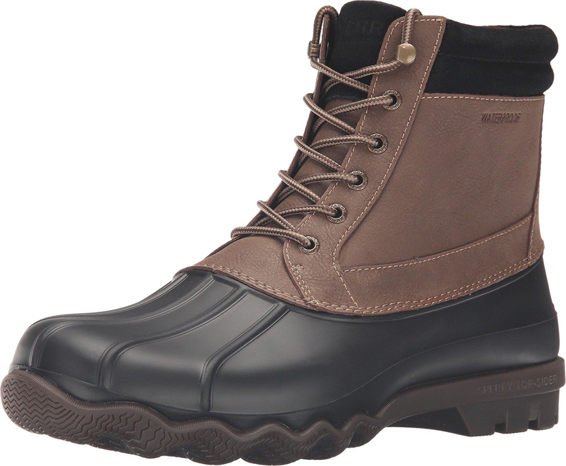 SPERRY Men's, Brewster Waterproof Boot Brown 9.5 M