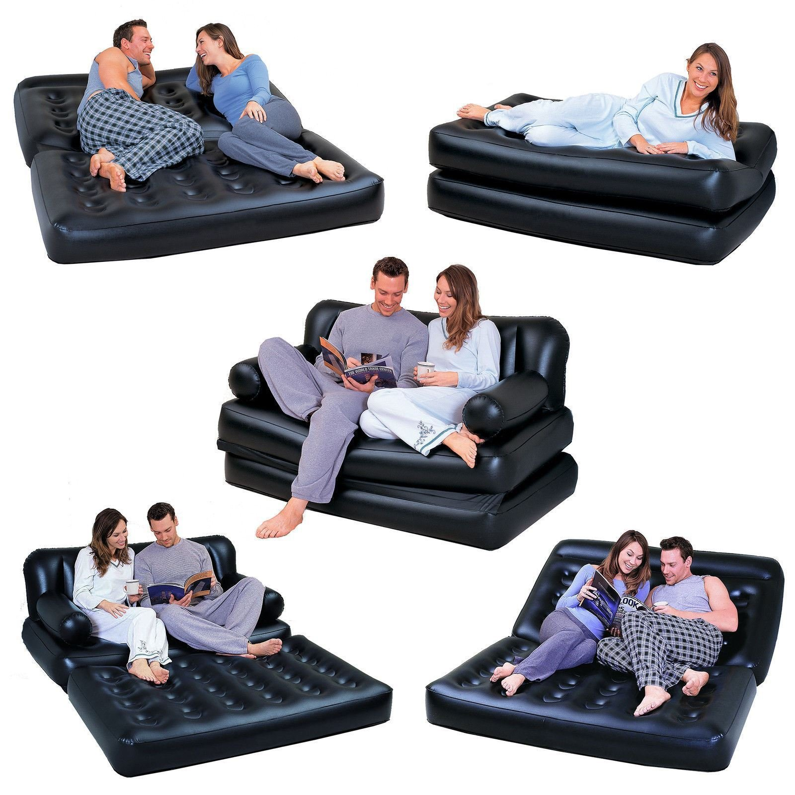 Intex 68566NP Inflatable Pull Out Sofa Airbed