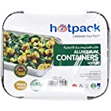 Hotpack Disposable Food Storage Containers - 10 Pieces
