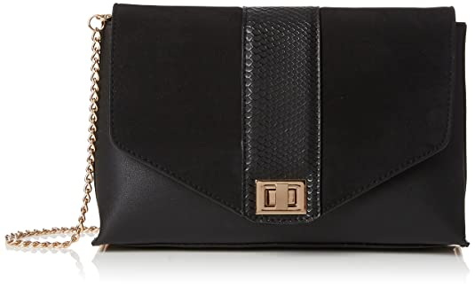 Dorothy Perkins Women s Snake Panel Clutch Black (Black)  Amazon.co.uk   Shoes   Bags b9ae777329