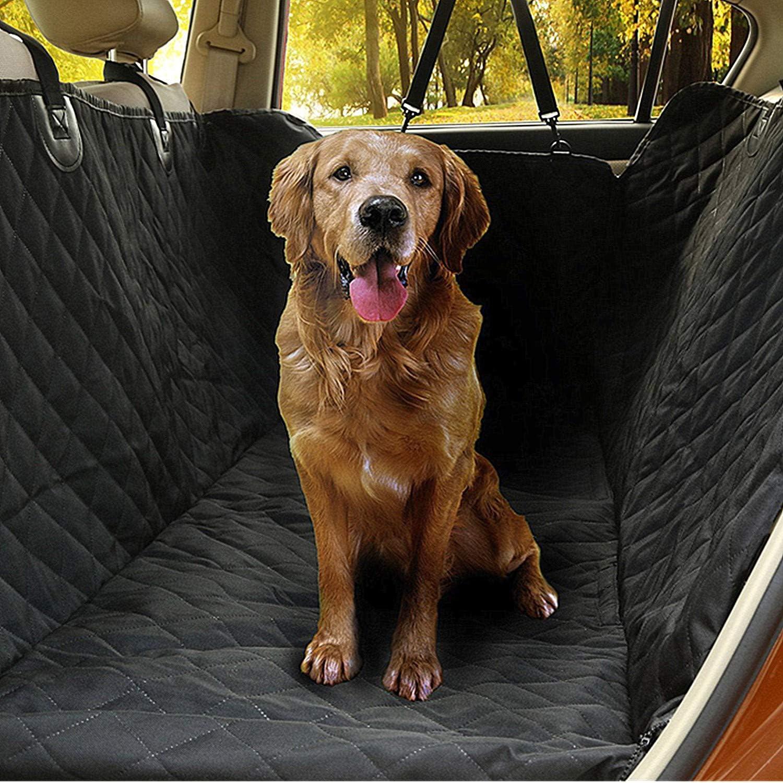 Hundedecke f/ür Auto R/ückbank rutschfest Wasserdicht Waschbar Universal Auto Hundedecke f/ür Hunde Schwarz Digead Auto schondecke f/ür Hunde