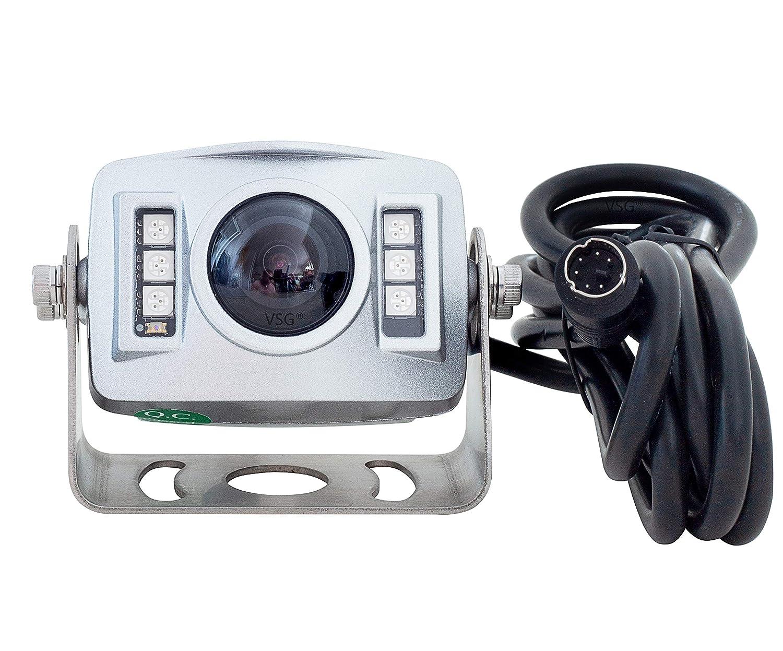 VSG 720P HD-R/ückfahrkamera//High-Definition Aufl/ösung//Flexibler Einbau//Nachtsicht Nachtsicht//e-Zulassung//Premium-Serie 120/° /& IP67 12Volt