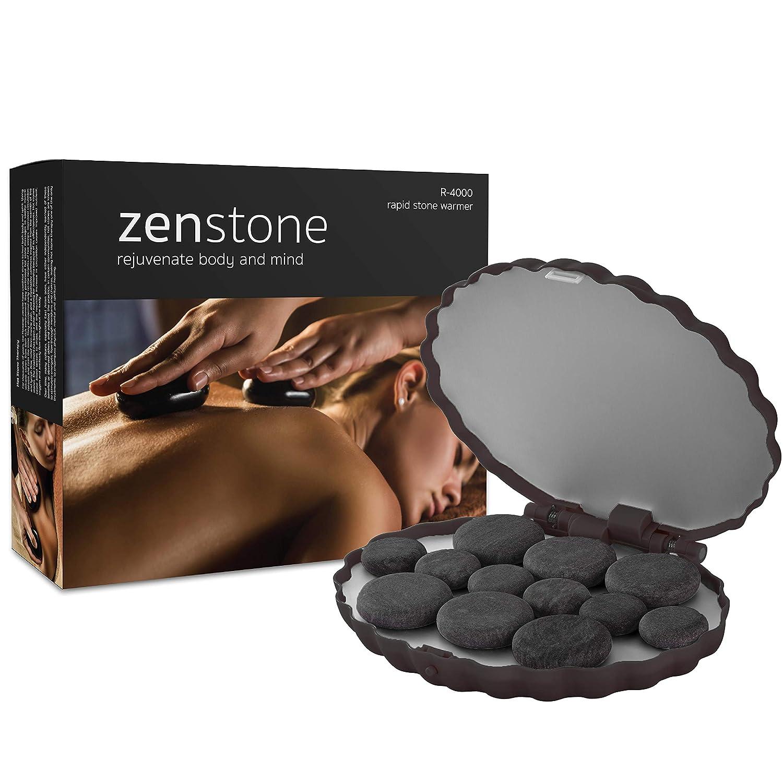 Zenstone Pro Hot Stone Warmer + 12 Pro Stones
