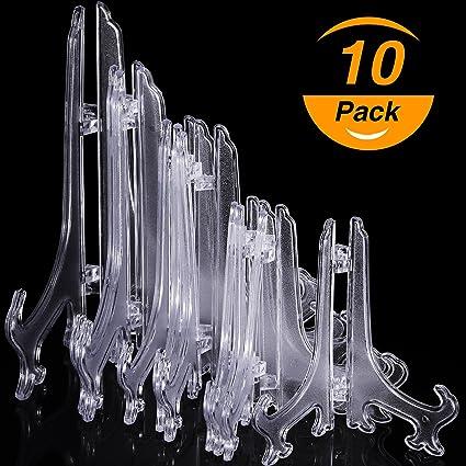 Amazon.com: Hestya 5 Inch/6 Inch/7 Inch/8 Inch Tall Clear Plastic ...