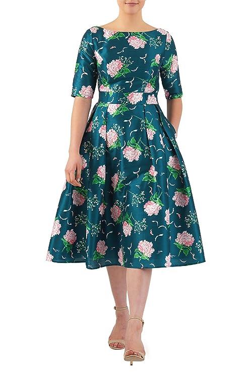 1960s Style Formal Dresses eShakti Womens Quincy dress $71.95 AT vintagedancer.com