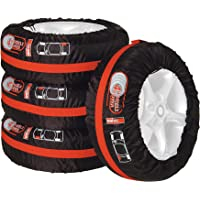 Unitec 75555 - Funda para neumáticos (4 Unidades)