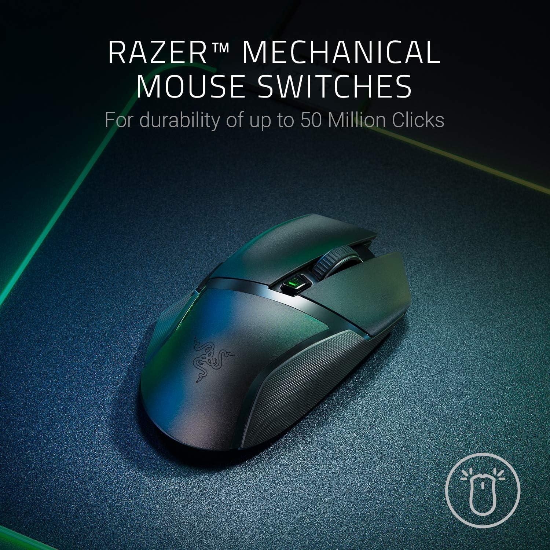 Razer Basilisk X HyperSpeed Wireless Gaming Mouse with Razer HyperSpeed Technology 10