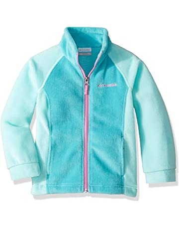 a1446a9ed Columbia Youth Girls' Benton Springs Jacket, Soft Fleece, Classic Fit
