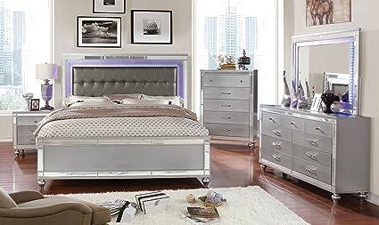 Amazoncom Esofastore Brachium Bedroom Furniture Contemporary