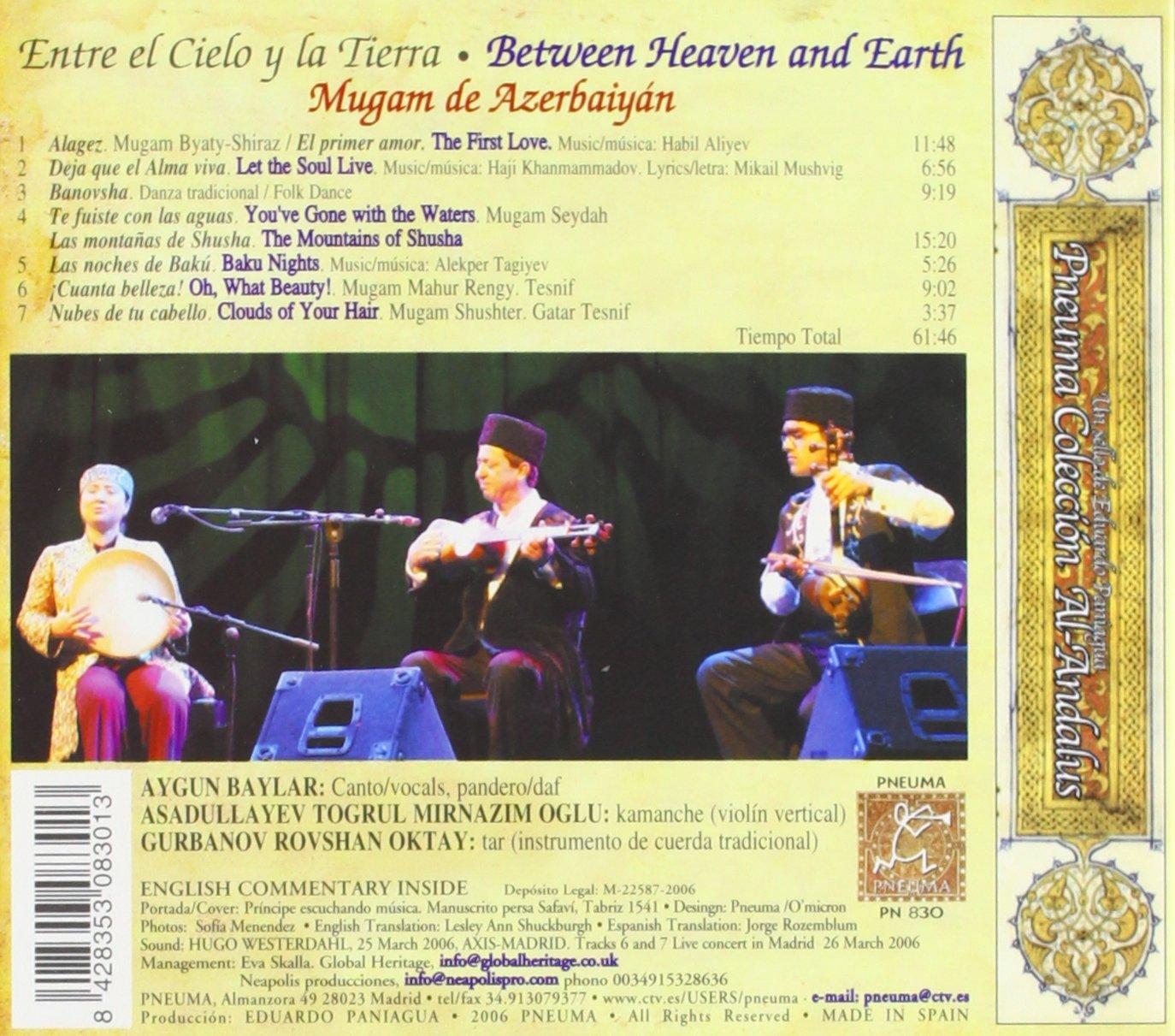 Entre El Cielo Y La Tierra: Aygun Baylar: Amazon.es: Música